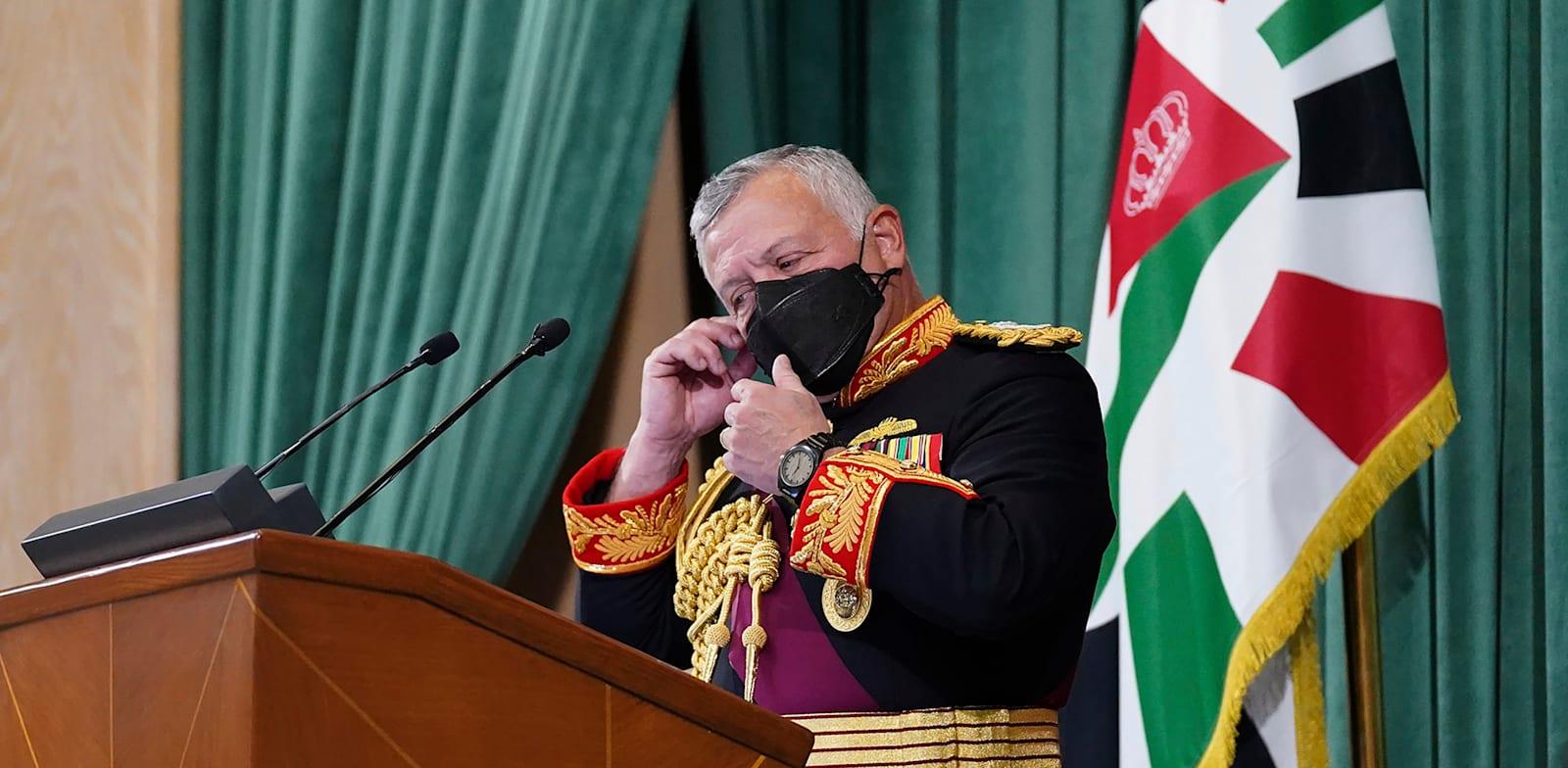 עבדאללה מלך ירדן / צילום: Associated Press, Yousef Allan/The Royal Hashemite Court