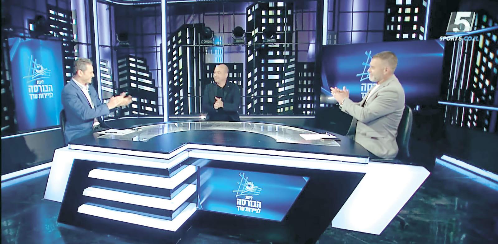 שידורי ערוץ הספורט / צילום: צילום מסך