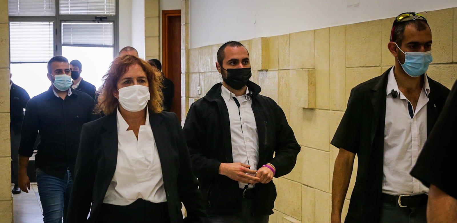 """עו""""ד ליאת בן-ארי במשפט נתניהו / צילום: אורן בן חקון"""