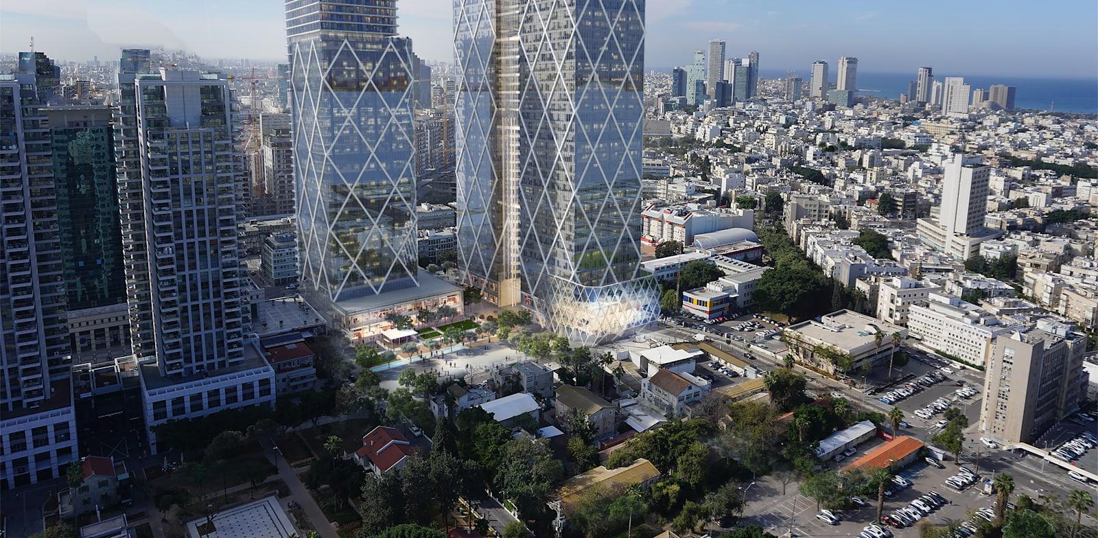 הדמיה של הפרויקט המורחב / צילום: ישר אדריכלים