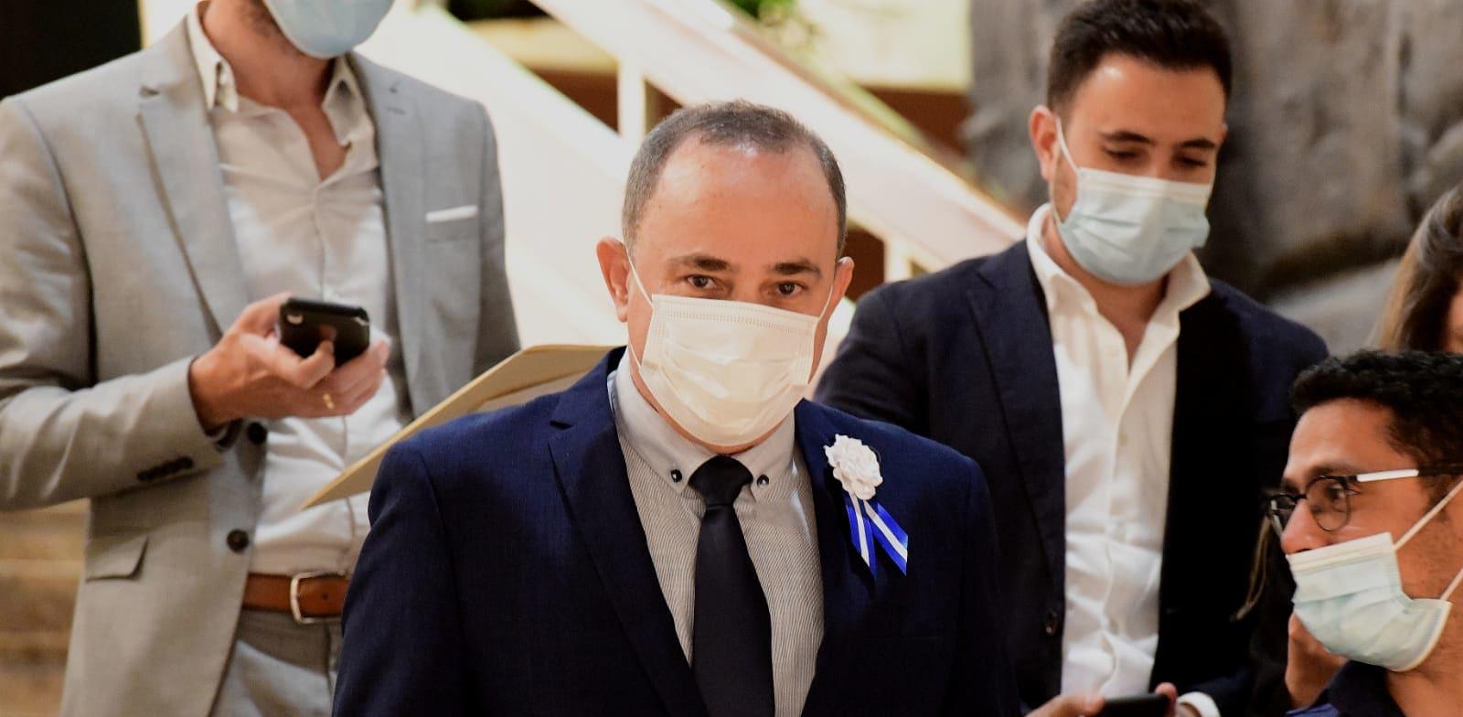 שר האנרגיה יובל שטייניץ / צילום: ראובן קסטרו