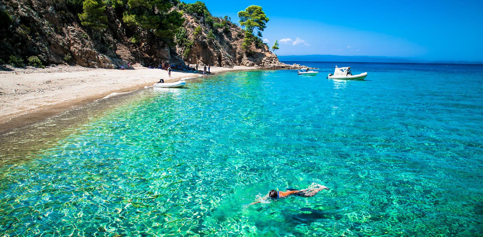 חופי יוון / צילום: Shutterstock