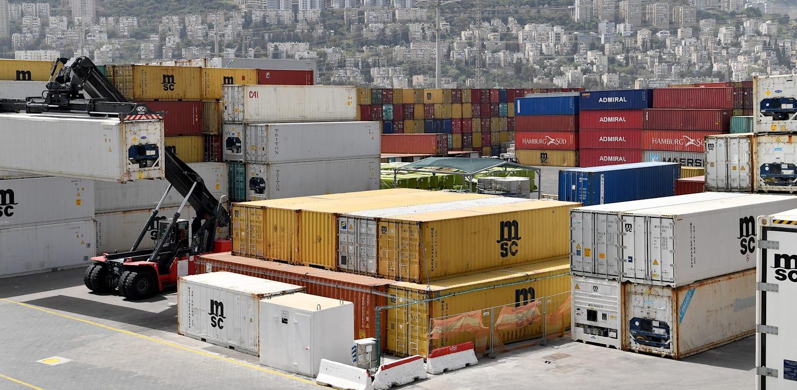 נמל חיפה / צילום: פאול אורלייב