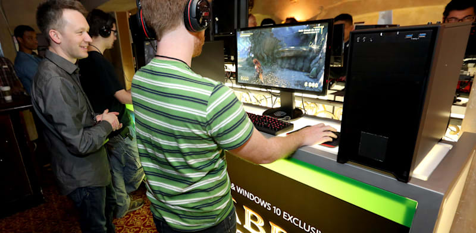 תערוכת הגיימינג E3 / צילום: Associated Press, Casey Rodgers/Invision for Microsoft