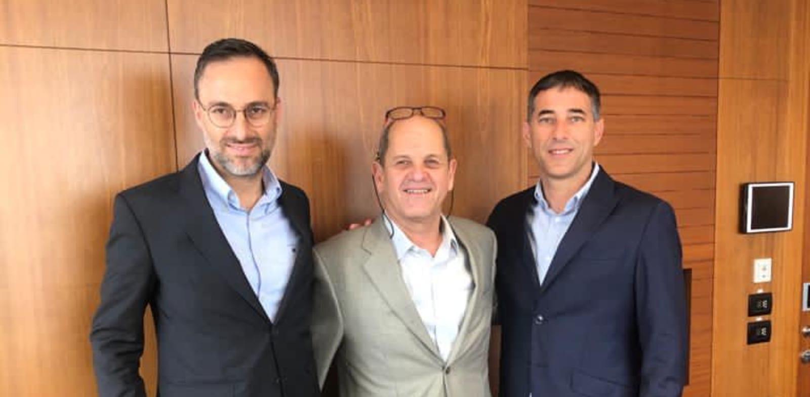 """עורכי הדין ליאור פורת, יוסי גייר וכפיר ידגר / צילום: יח""""צ"""