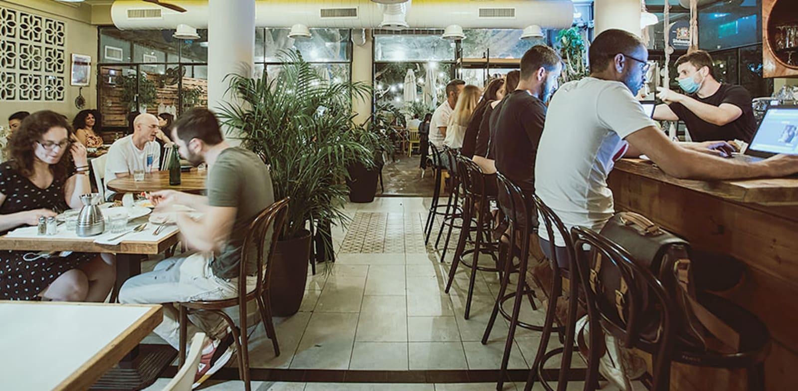 קפה ציונה בנס ציונה / צילום: גיל ורון