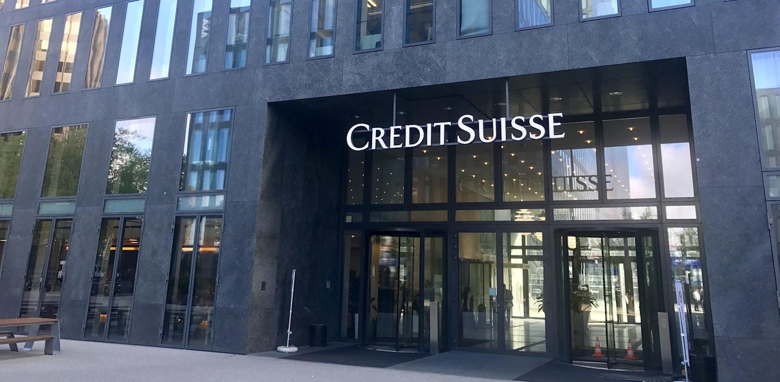 סניף של קרדיט סוויס. הבנק ייבדק על ידי הרגולטור השווייצרי / צילום: Shutterstock
