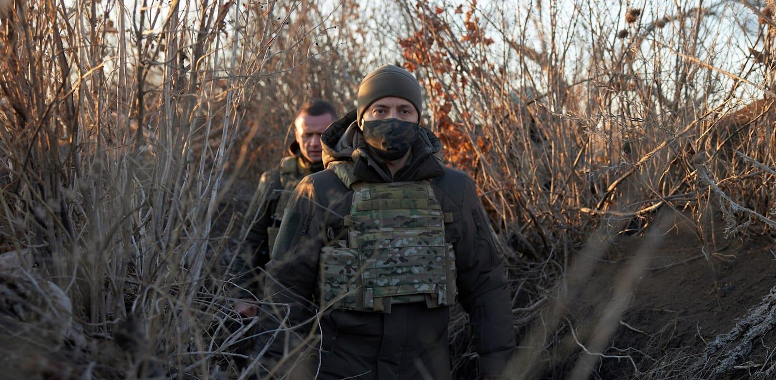 ולדימיר זלנסקי, נשיא אוקראינה / צילום: Associated Press, Ukrainian Presidential Press Office