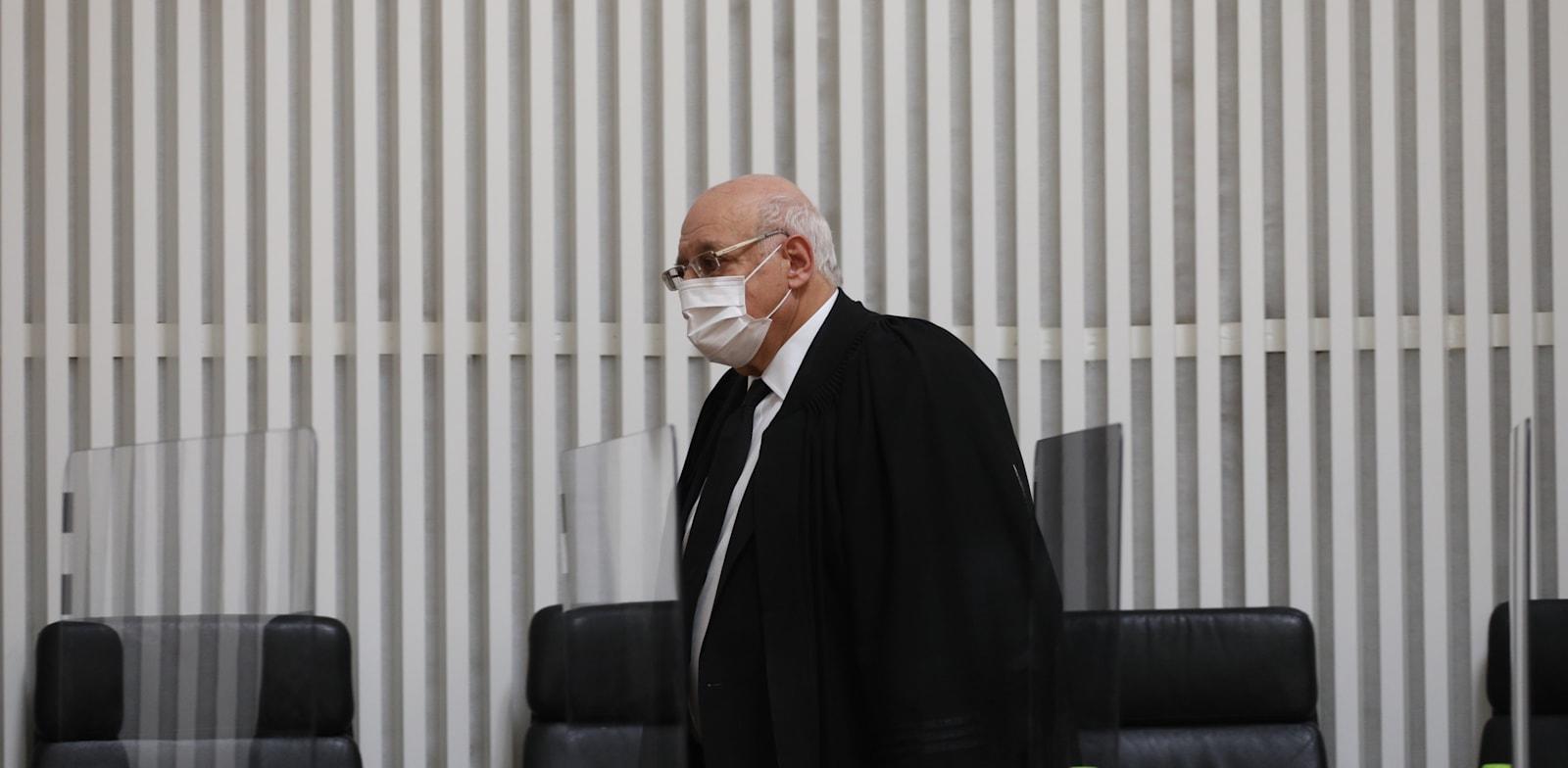 """השופט חנן מלצר / צילום: אמיל סלמן, """"הארץ"""""""
