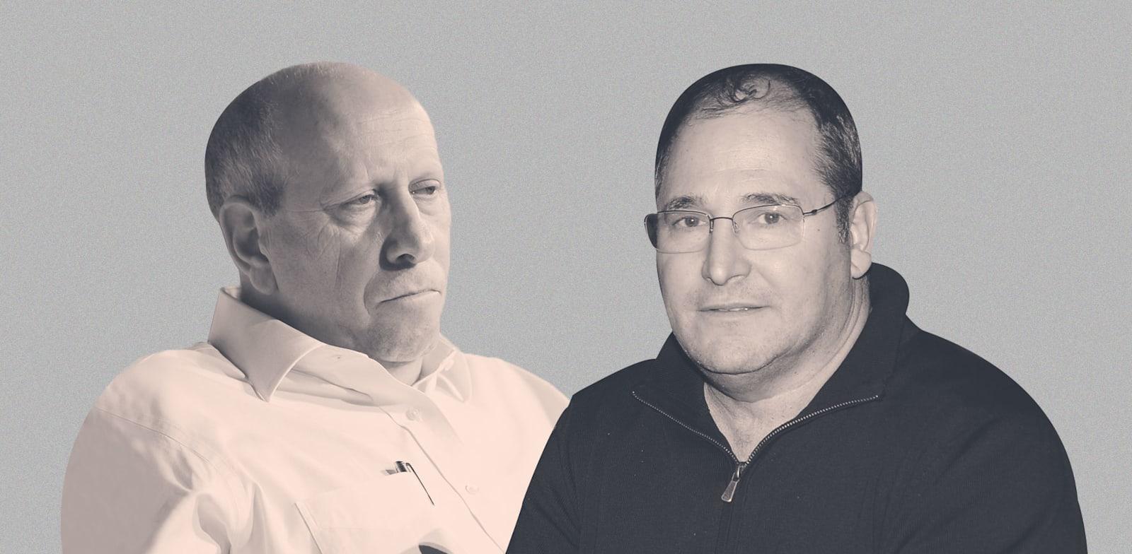 ניר גלעד ומוטי רוזן / צילום: יוסי כהן, תמר מצפי