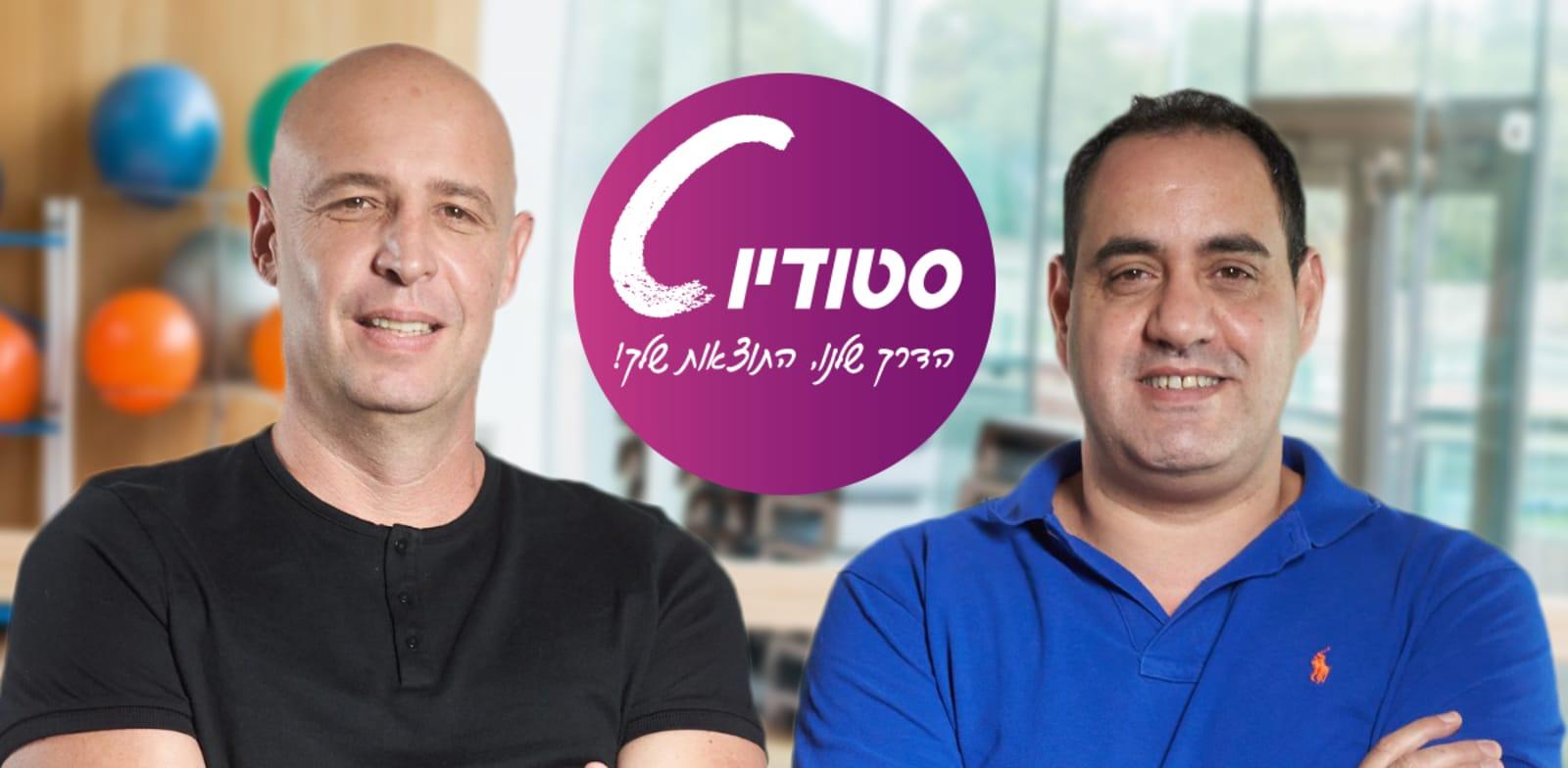 דורון כהן וניצן אריה, בעלי סטודיו סי / צילום: עומרי לוי