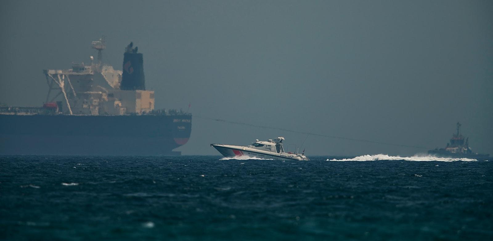 משמר החופים של איחוד האמירויות / צילום: Associated Press, Jon Gambrell