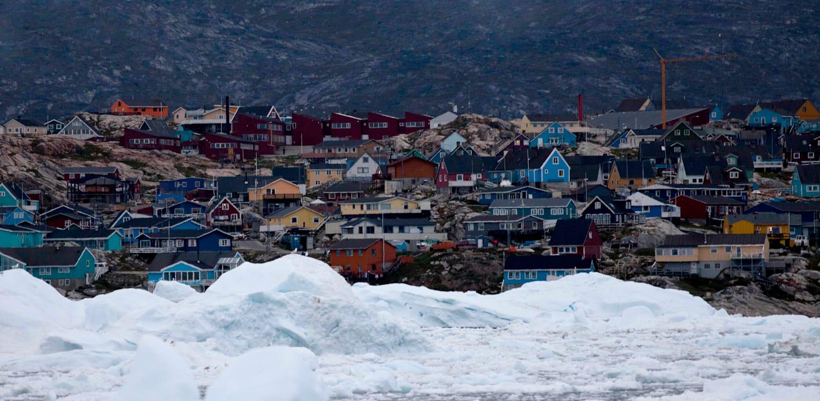 העיירה השלישית בגודלה בגרינלנד, אילוליסאט / צילום: Associated Press, Brennan Linsley