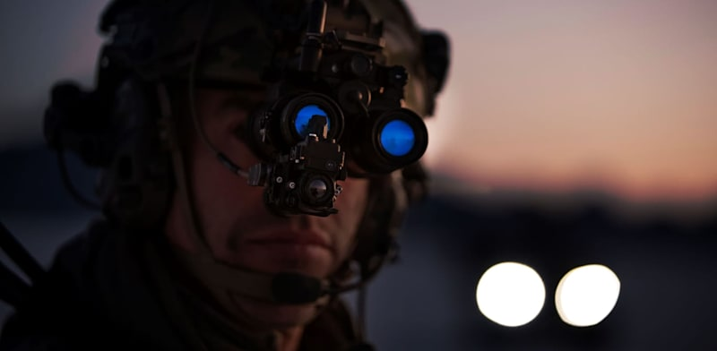 Elbit Systems night-vision equipment  credit: Elbit Systems