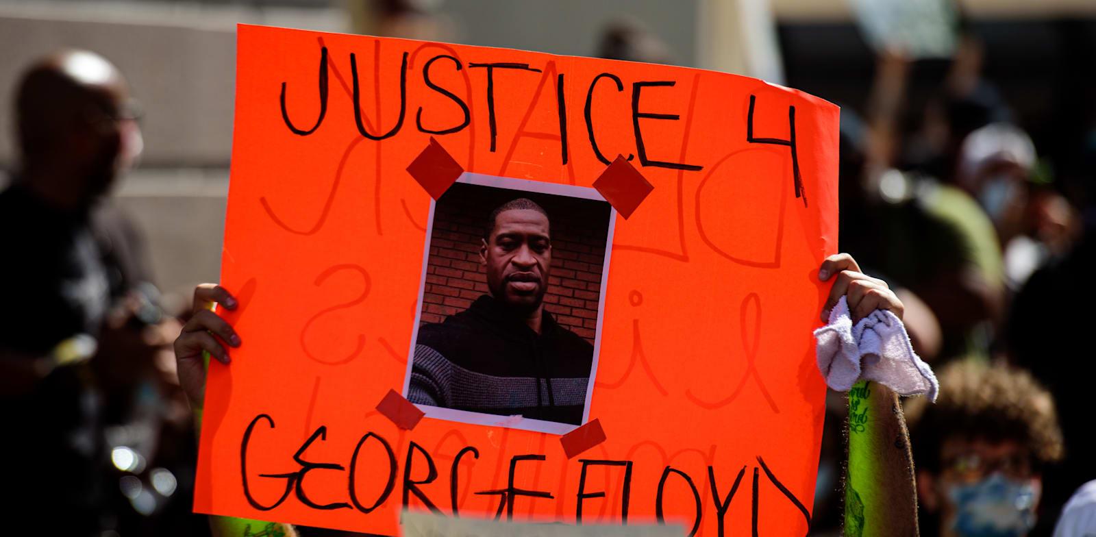 הפגנה במיאמי בקריאה לצדק במקרה הרצח של ג'ורג' פלויד / צילום: Shutterstock