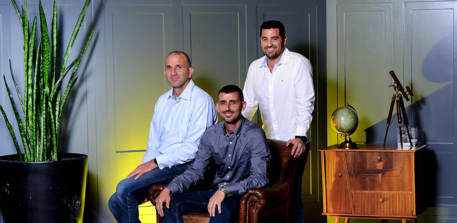 4M Analytics founders Photo: Eyal Izhar