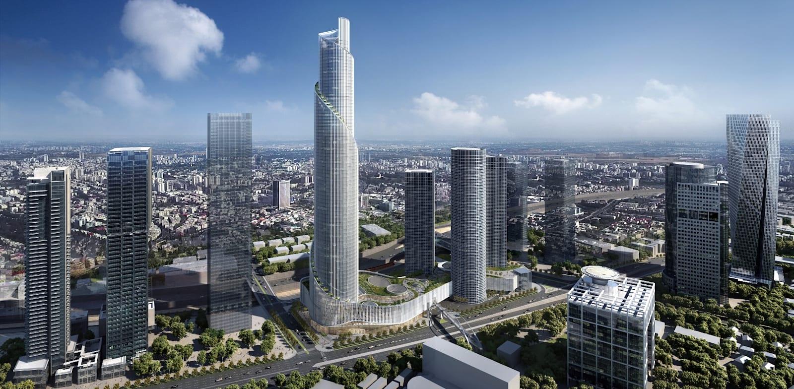 Azrieli Center Spiral Tower Credit: KPF