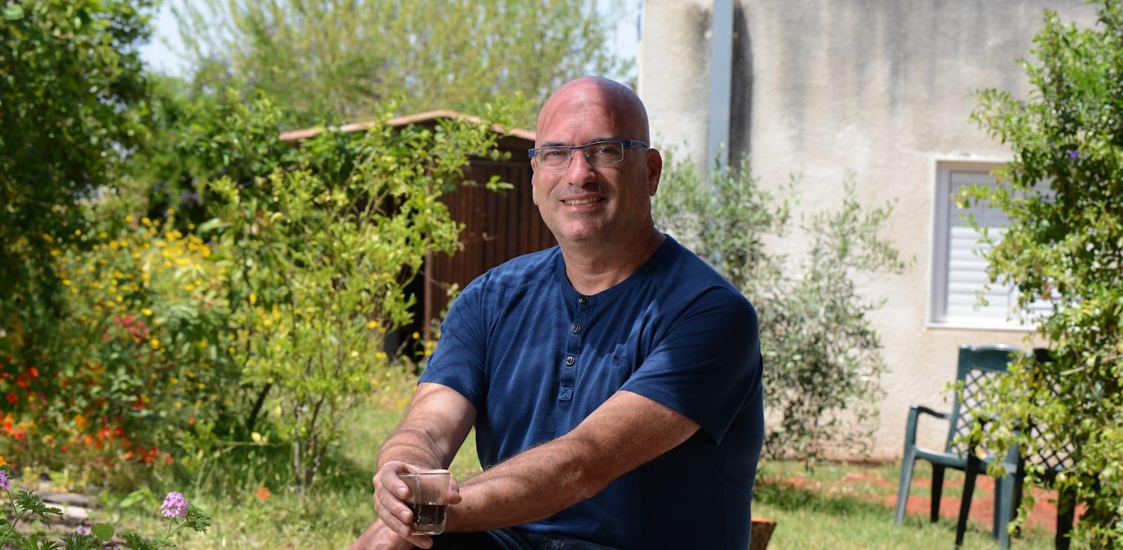 אופיר ליבשטיין, ראש מועצת שער הנגב / צילום: איל יצהר