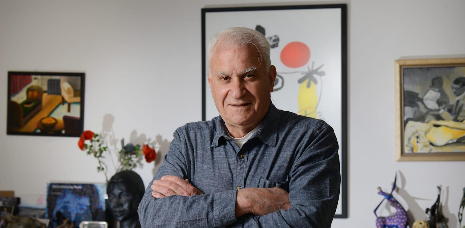 אסף רזין, פרופסור (אמריטוס) לכלכלה באוניברסיטת תל אביב / צילום: איל יצהר