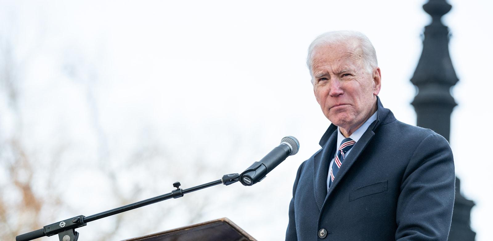 """נשיא ארה""""ב ג'ו ביידן / צילום: Shutterstock"""