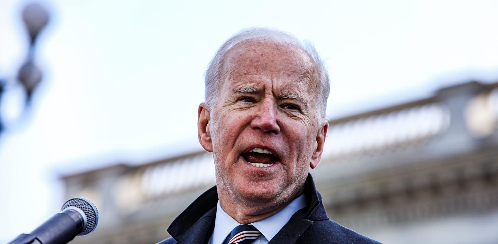 """נשיא ארה""""ב ג'ו ביידן / צילום: Shutterstock, Perry McLeod"""