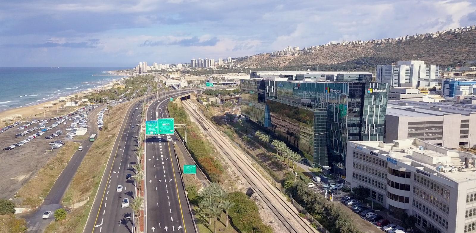מרכז ההייטק של חיפה / צילום: Shutterstock