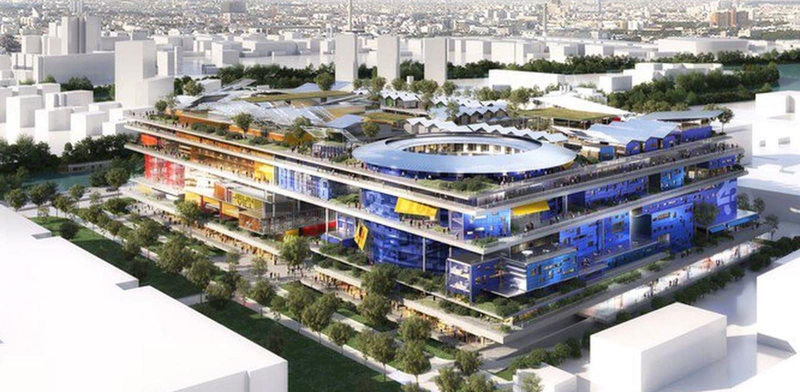 הדמיית הפרויקט. 13 קומות / הדמיה: Ateliers Jean Nouvel