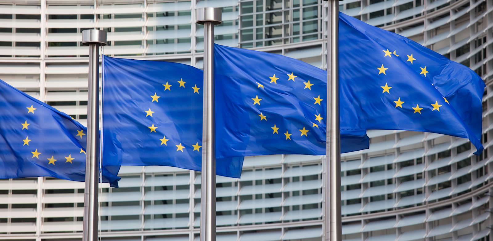 דגלי האיחוד האירופי / צילום: Shutterstock