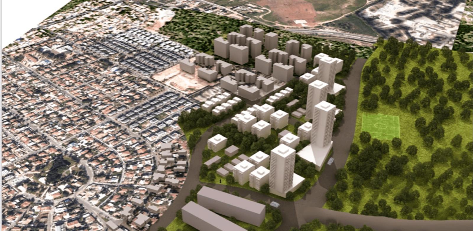 Rishon Lezion Hahatzavim neighborhood Credit: Horovitz Architects