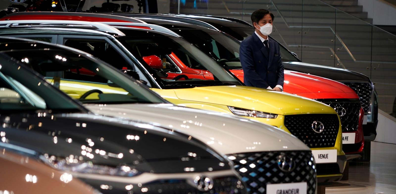 Hyundai cars Photo: Reuters  Photo: Kim Hong-Ji
