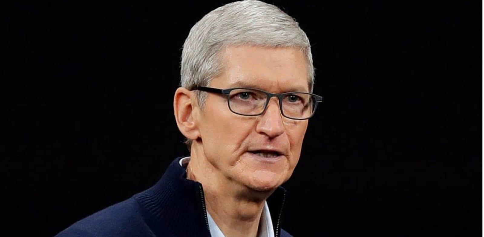 """מנכ""""ל אפל, טים קוק / צילום: AP"""