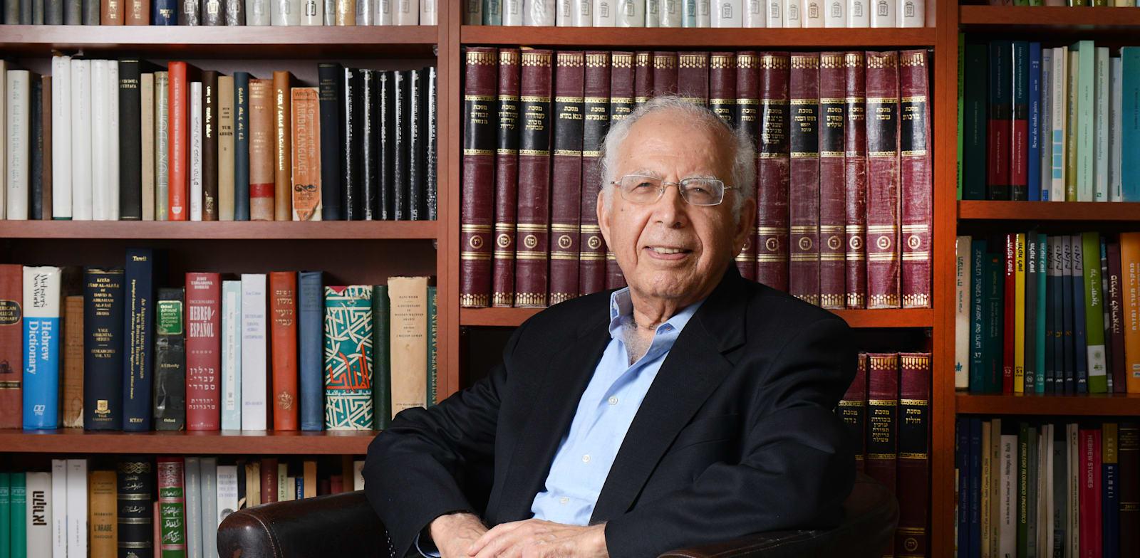 פרופ' משה בר-אשר, נשיא האקדמיה ללשון העברית / צילום: איל יצהר