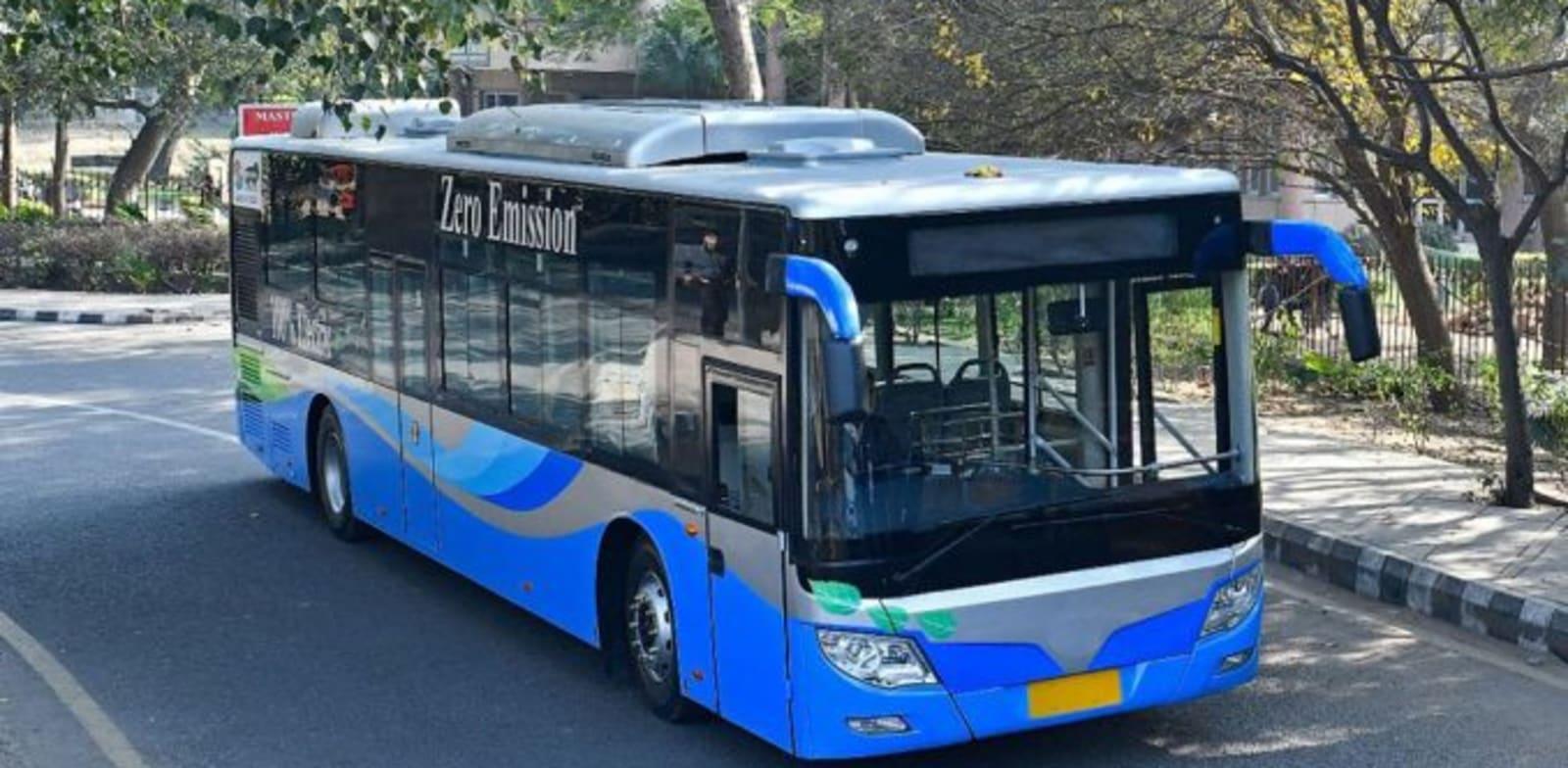 אוטובוס חשמלי של FOTON הסינית