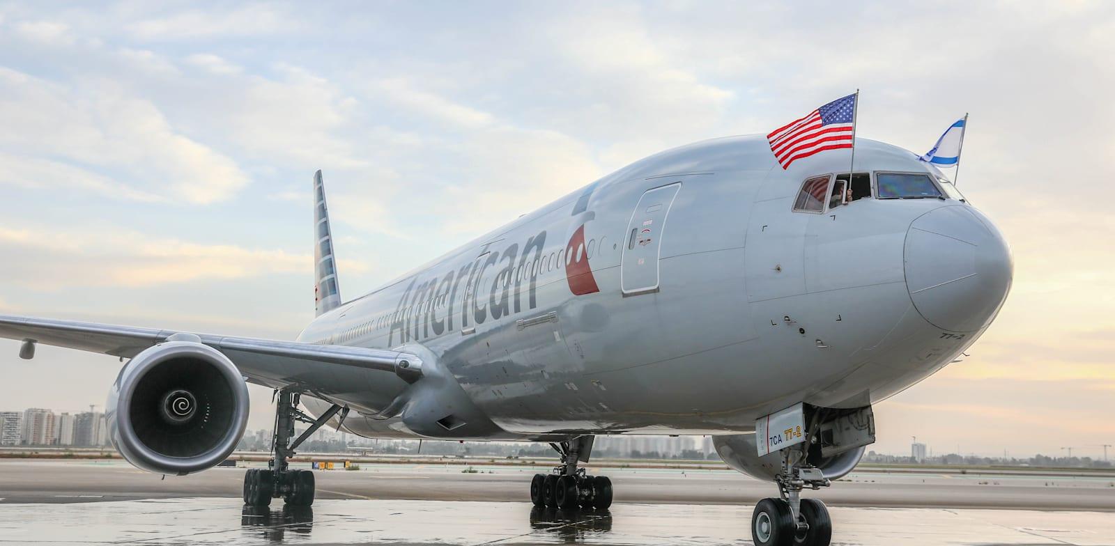 American Airlines Photo: Yossi Aloni