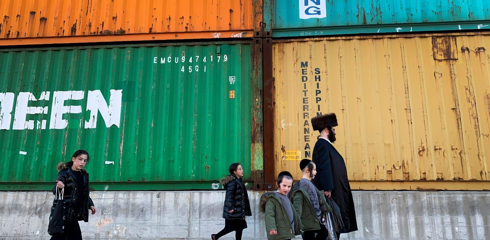 יהודים אורתודוקסיים בברוקלין בניו יורק / צילום: Associated Press, Wong Maye-E
