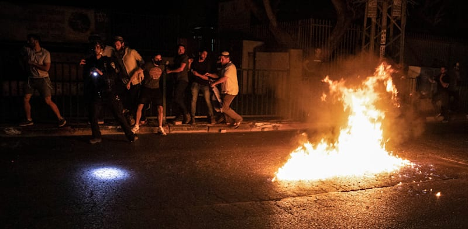 מהומות בלוד / צילום: Reuters, Oren Ziv/dpa