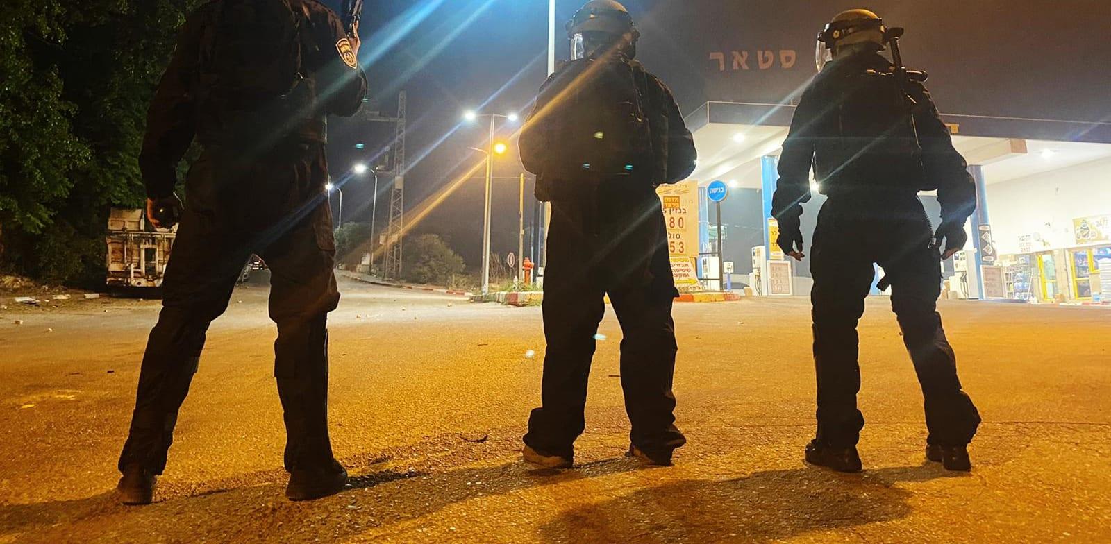 שוטרים נפרסים בעקבות התפרעויות ברחבי הארץ / צילום: דוברות המשטרה