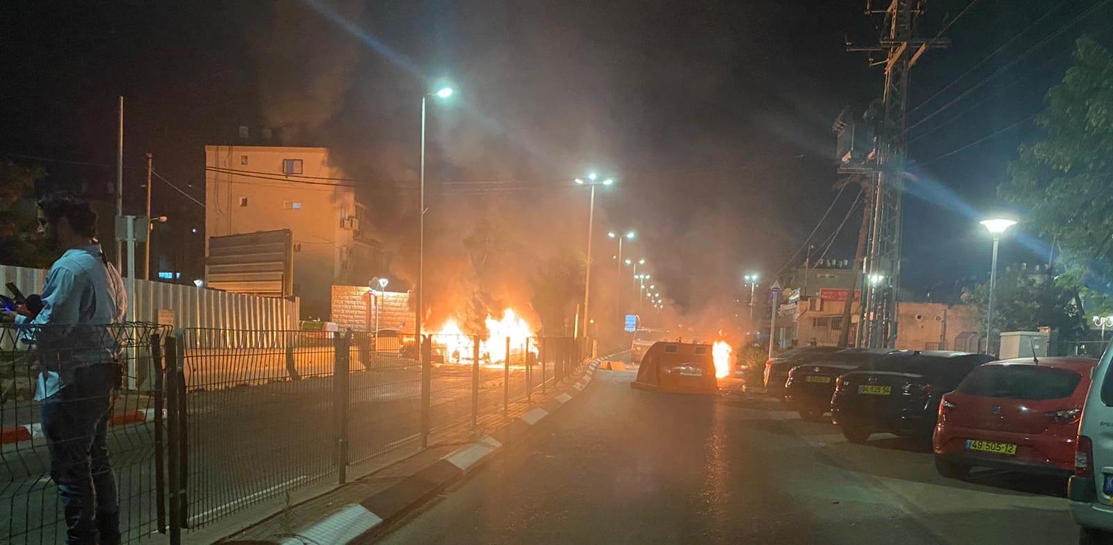 המהומות בצפון / צילום: דוברות המשטרה