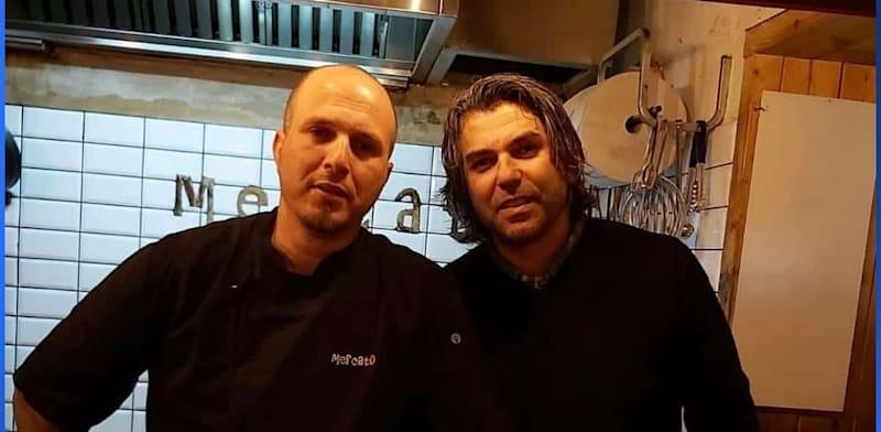 נעם שחר ועמרי שחר, מסעדת מרקטו / צילום: תמונה פרטית