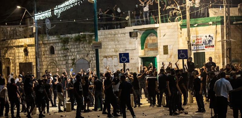 המהומות בלוד. 70% ערבים לצד 30% יהודים בשכונה / צילום: Associated Press, Heidi Levine