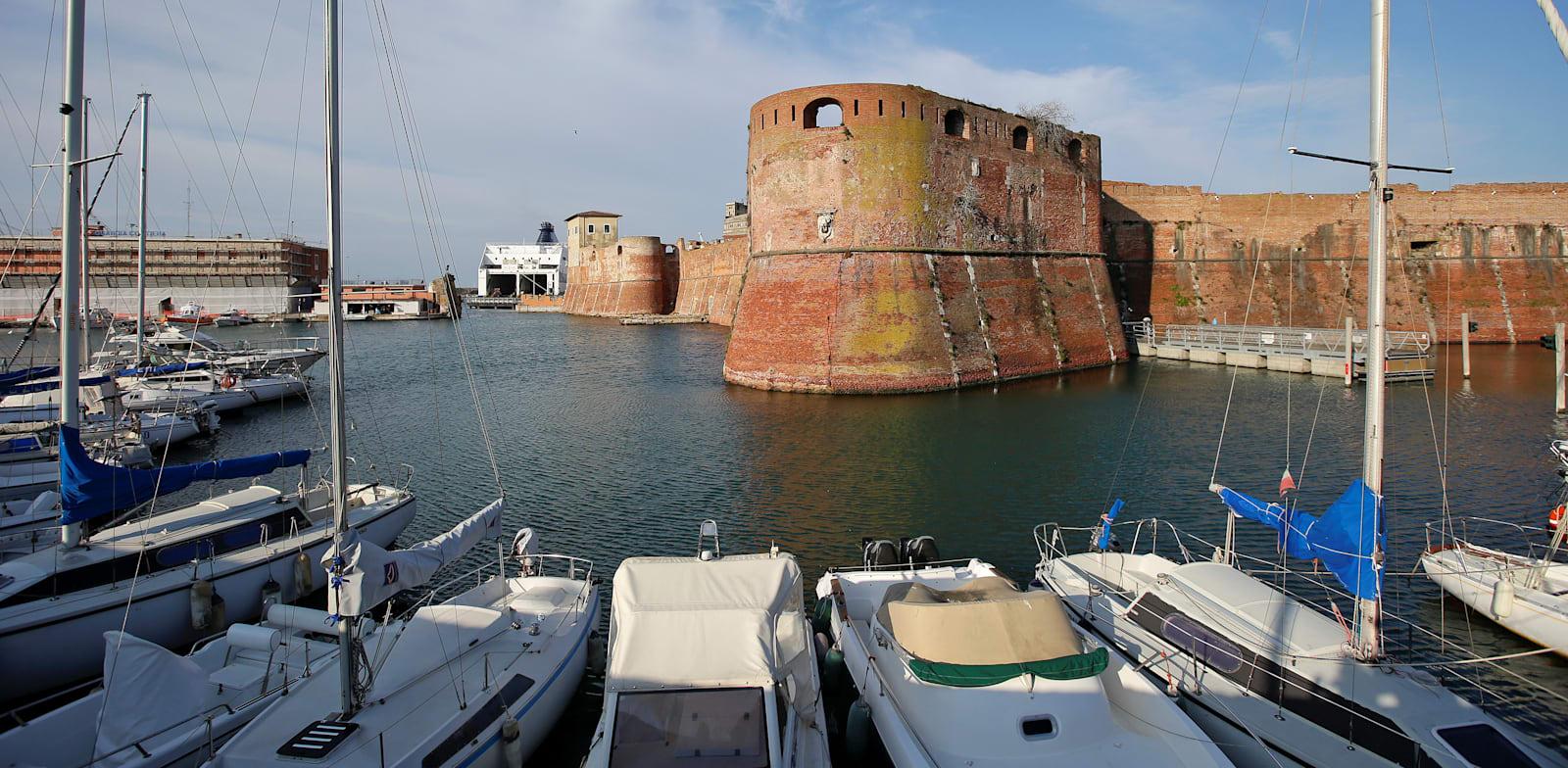נמל ליבורנו באיטליה / צילום: Reuters, Max Rossi