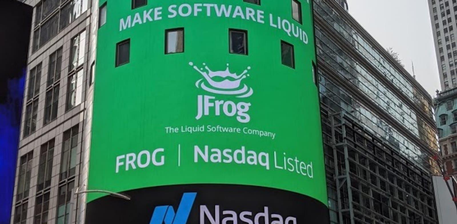 JFrog Photo: Nasdaq PR