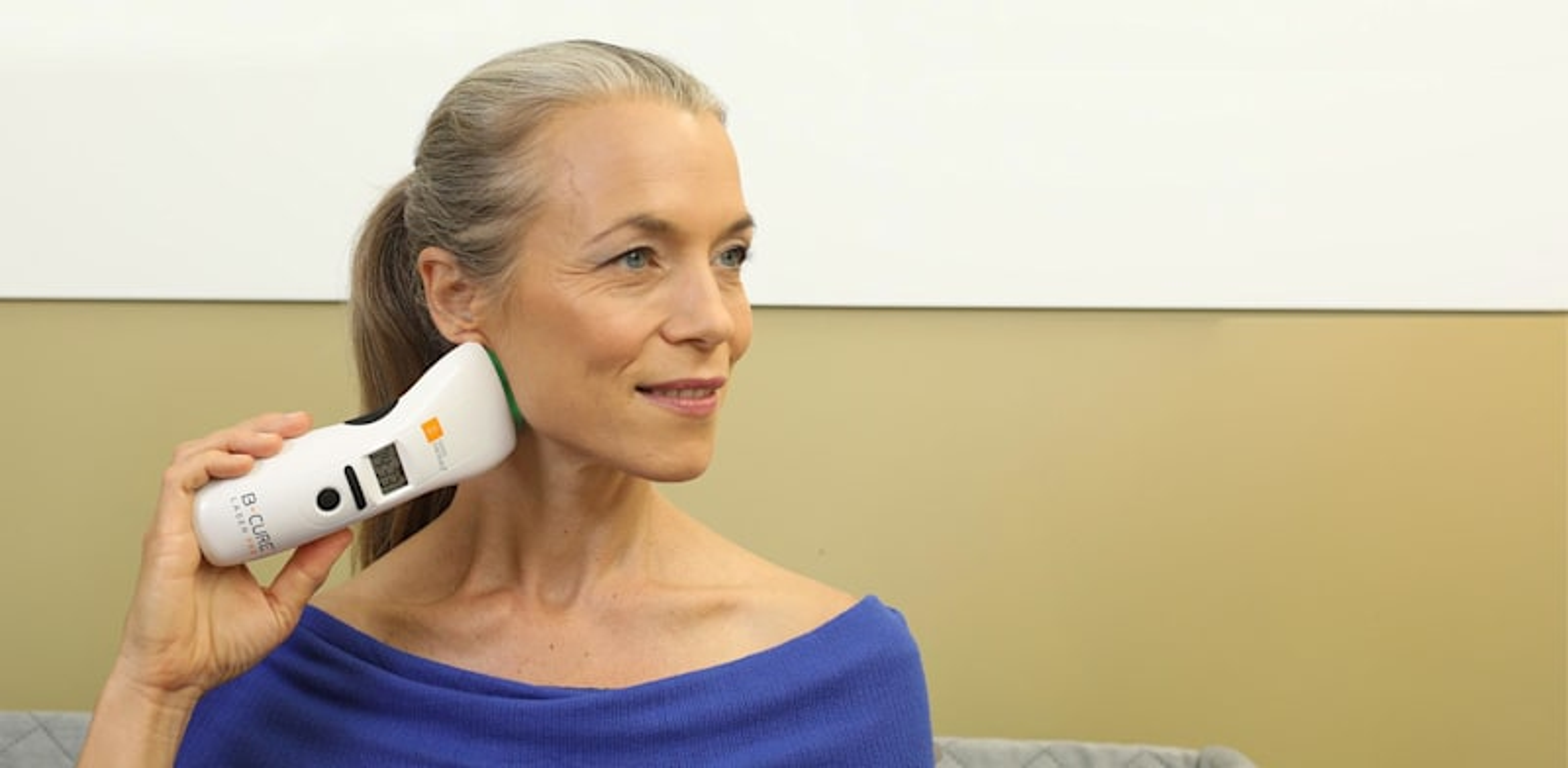 """המכשיר הרפואי """"בי–קיור לייזר"""" / צילום: מצגת החברה"""