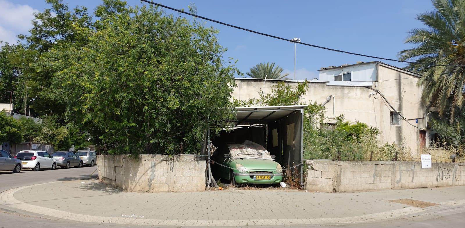 Tel Aviv's Ludvipol neighborhood Photo: Eyal Izhar