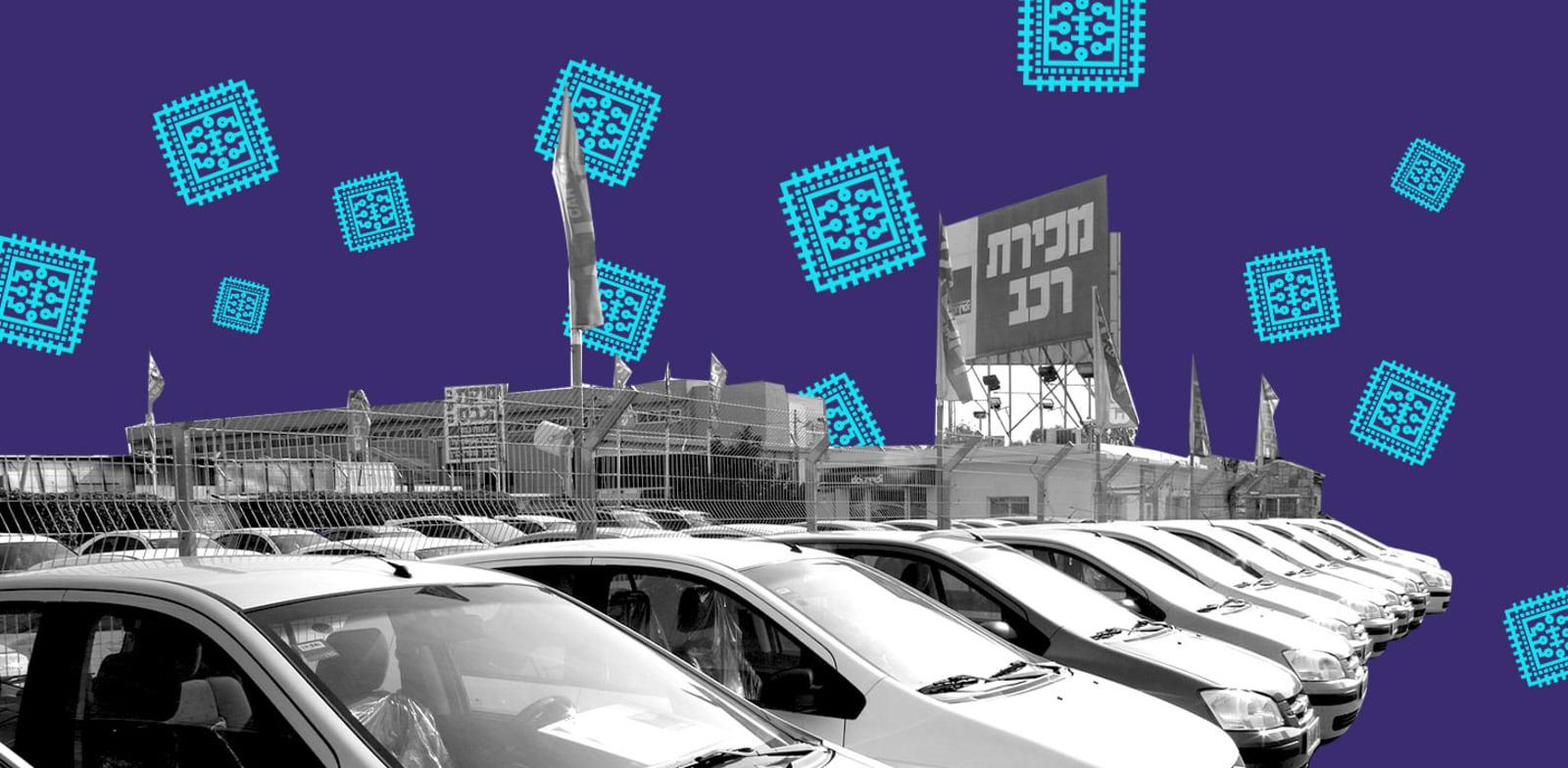 המחסור בצ'יפים בתעשיית הרכב / עיצוב: טלי בוגדנובסקי