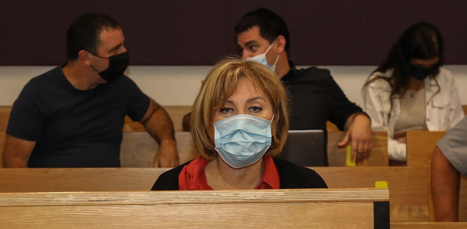 פאינה קירשנבאום היום בבית המשפט / צילום: כדיה לוי