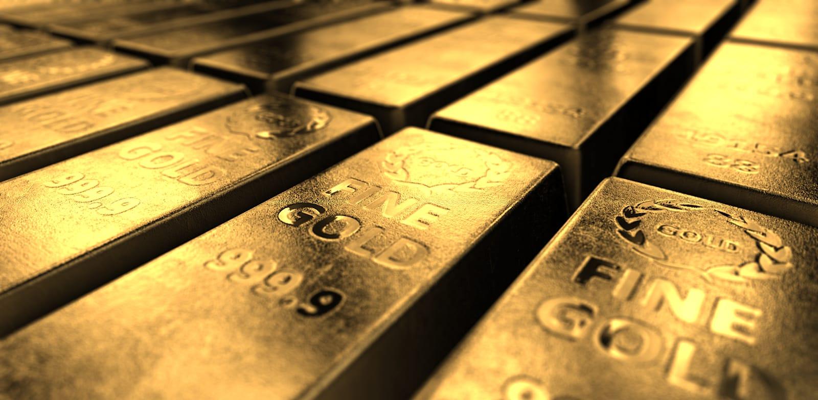 זהב. נכס שמשקיעים משתמשים בו כדי להתגונן מפני אינפלציה / צילום: Shutterstock, 3Defokes
