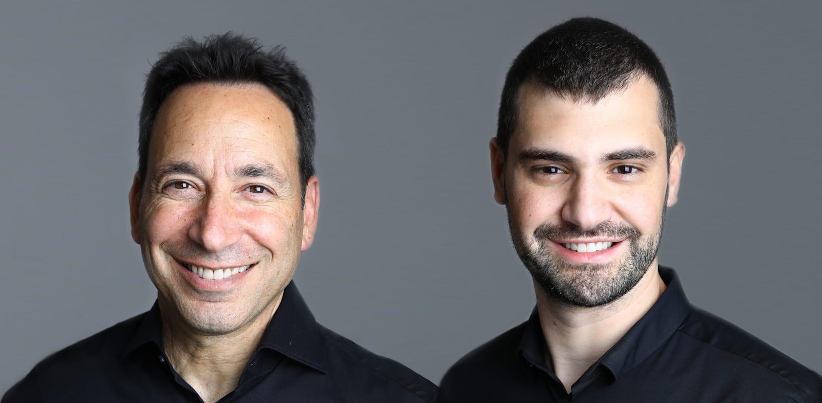 Michael and Roey Eliyahu Photo: Sali Ben Aryeh