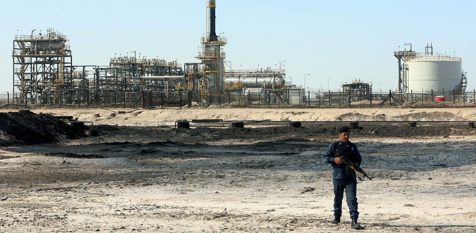 שדה נפט של אקסון בעיראק / צילום: Reuters, Essam al-Sudani