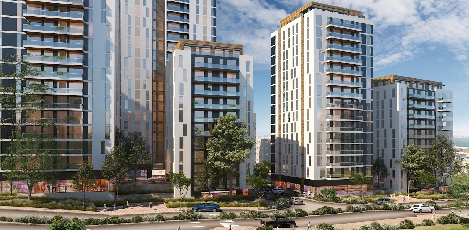 New neighborhood for Kiryat Eliezer Credit: Hakubia